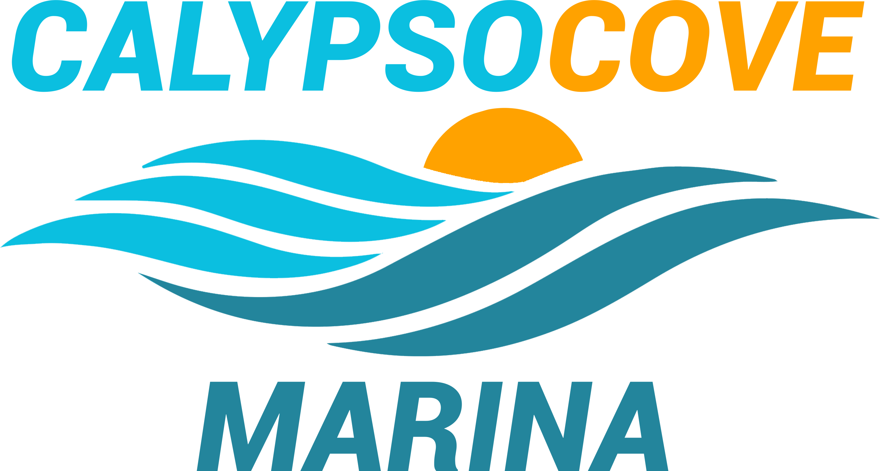 Vertical Logo Calypso Cove Marine Norman Oklahoma Lake Thunderbird OK